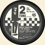 "SPECIALS, THE with RODDY RADIATION - Braggin & Tryin' Not To Lie 7"" (-/EX) (SKA)"