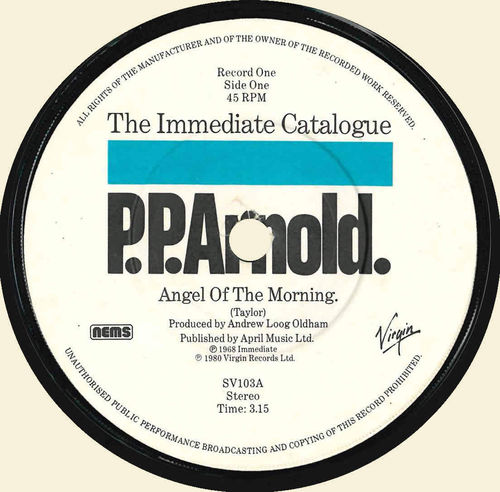 "ARNOLD, P.P. - Angel Of The Morning 7"" (-/EX) (M)"