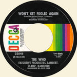 "WHO, THE - Won't Get Fooled Again 7"" (-/VG) (M)"