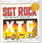"XTC - Sgt. Rock (Is Going To Help Me) 7"" (+ POSTER P/S) (EX/EX) (P)"