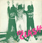 "CLASH, THE - White Riot 7"" + P/S (VG/EX) (P)"