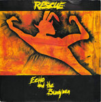 "ECHO & THE BUNNYMEN - Rescue 7"" + P/S (EX/EX) (P)"