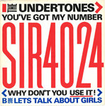 "UNDERTONES, THE - You've Got My Number 7"" + P/S (EX/EX) (P)"