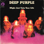 "DEEP PURPLE - Might Just Take Your Life 7"" (+ ITALIAN P/S) (VG+/EX) (M)"