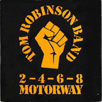 "TOM ROBINSON BAND - 2-4-6-8 Motorway 7"" + P/S (EX-/EX) (P)"