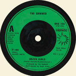"DAMNED, THE - Dozen Girls 7"" (-/EX) (P)"