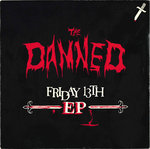 "DAMNED, THE - Friday 13th EP 7"" + P/S (EX/VG+) (P)"