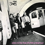 "JAM, THE - Down In The Tube Station At Midnight 7"" + P/S (EX/EX) (M)"