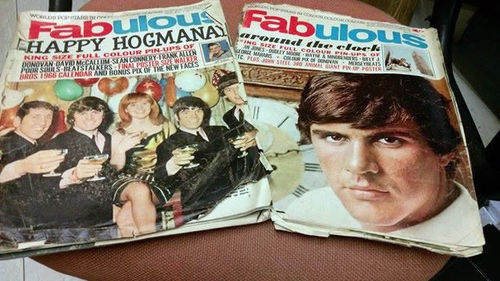 FABULOUS - Issues 23rd Oct 1965 / 1st Jan 1966 MUSIC PAPERS (POOR) (D2)