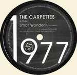 "CARPETTES, THE - Small Wonder / 2 NE 1 (JAPANESE MISPRESS) 7"" (-/EX) (P)"