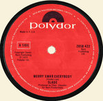 "SLADE - Merry Xmas Everybody / Don't Blame Me 7"" (-/VG+) (P)"