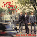 "MERTON PARKAS, THE - You Need Wheels - 7"" + P/S (VG+/EX) (M)"