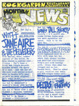 ROCK GARDEN MONTHLY NEWS - July 1981 Gig Listings (EX) (D1)