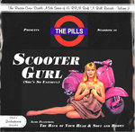 "PILS, THE - Scooter Gurl (She's So Faithful) EP (GREEN VINYL) 7"" + P/S (EX/EX) (M)"