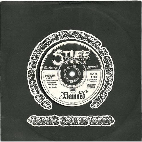 "DAMNED, THE - Problem Child 7"" (+ COMPANY SLEEVE) (EX/EX) (P)"
