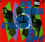 ELVIS COSTELLO & THE ATTRACTIONS - Get Happy (+ POSTER) - LP (VG/VG+) (P)