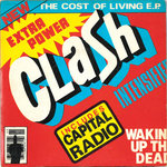 "CLASH, THE - The Cost Of Living E.P. 7"" + P/S (EX/EX) (P)"