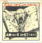 "ANGELIC UPSTARTS, THE - Out Of Control 7"" + P/S (VG/VG+) (P)"