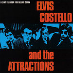 "ELVIS COSTELLO & THE ATTRACTIONS - I Can't Stand Up For Falling Down 7"" + P/S (VG/VG) (P)"