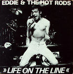 EDDIE & THE HOT RODS - Life On The Line EP 12' + P/S (EX/EX) (P)