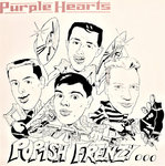 PURPLE HEARTS, THE - Pop-ish Frenzy... - LP (VG+/VG) (M)