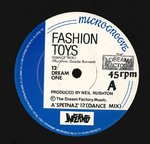 "DREAM FACTORY, THE - Fashion Toys EP 12"" (-/VG+) (M)"