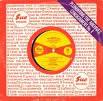 "V/A - Dance Whatcha Wanna - Sue Records : Pludering The Archives #1 EP 10"" (VG/FAIR) (M)"