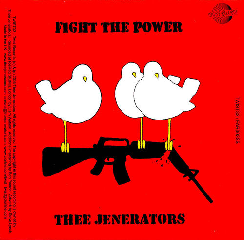 JENERATORS, THEE / HOBO SOUNDS - Fight The Power / Hang The President DOWNLOAD