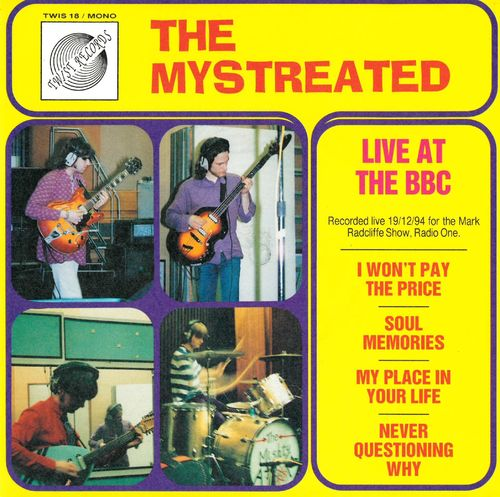 MYSTREATED, THE - Live At The BBC EP DOWNLOAD