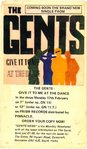 GENTS, THE - Give It To Me PROMO POSTCARD (VG+) (D1)