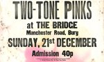 "TWO-TONE PINKS - 14.5"" x 9"" GIG POSTER 1980 (VG+)"