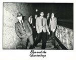 "RYE & THE QUARTERBOYS - 8"" x 10"" Black & White PROMO PHOTO (EX) (D1)"