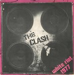 "CLASH, THE - White Riot 1977 - 7"" (+ ITALIAN P/S) (VG+/EX-) (P)"