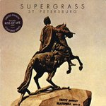 "SUPERGRASS - St. Petersburg (RED VINYL) - 7"" + P/S (EX/EX) (M)"