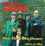 "FLAMIN' GROOVIES, THE - You Tore Me Down 7"" + P/S (VG+/EX) (M)"