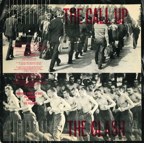 "CLASH, THE - The Call Up - 7"" + P/S (VG/VG) (P)"