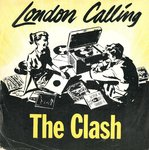 "CLASH, THE - London Calling - 7"" + P/S (VG/VG+) (P)"