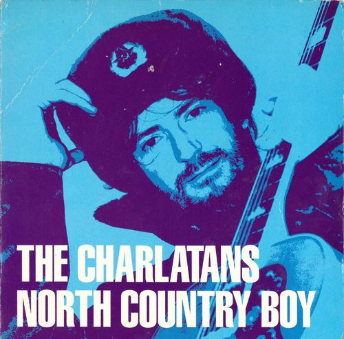 "CHARLATANS, THE - North Country Boy - 7"" + P/S (VG+/VG+) (M)"