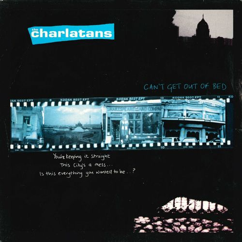 "CHARLATANS, THE - Can't Get Out Of Bed - 7"" + P/S (EX-/EX) (M)"