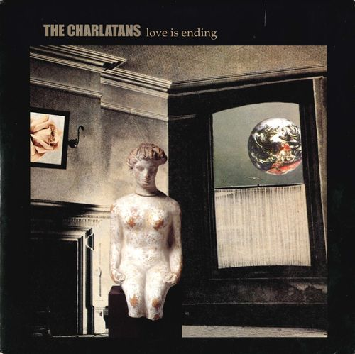 "CHARLATANS, THE - Love Is Ending - 7"" + P/S (EX/EX) (M)"