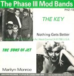 "V/A - The Phase III Mod Bands (PHZ-13) EP - 7"" + P/S (VG+/VG) (M)"