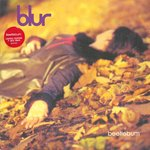 "BLUR - Beetlebum (RED VINYL) - 7"" + P/S  (EX/EX) (M)"