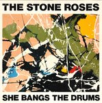 "STONE ROSES, THE - She Bangs The Drum - 7"" + P/S (EX-/VG) (M)"