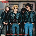 "G.B.H - Give Me Fire - 7"" + P/S (VG/POOR) (P)"