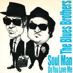 "BLUES BROTHERS, THE - Soul Man 7"" + P/S (EX/EX) (M)"