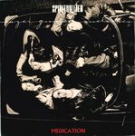 "SPIRITULALIZED - Medication (RED VINYL) - 7"" + (AUTOGRAPHED P/S) (VG+/EX) (P)"