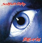 "SCARLET PARTY - Eyes Of Ice (CLEAR VINYL) - 7"" + P/S (EX/EX) (M)"