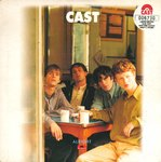 "CAST - Alright (BLUE VINYL) - 7"" + P/S (EX/EX-) (M)"