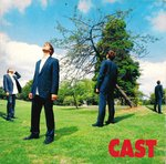 "CAST - Flying  (WHITE VINYL) - 7"" + P/S (EX-/EX-) (M)"