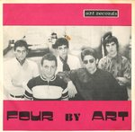 "FOUR BY ART - My Mind In Four Sights - 7"" + P/S (VG+/VG+) (M)"